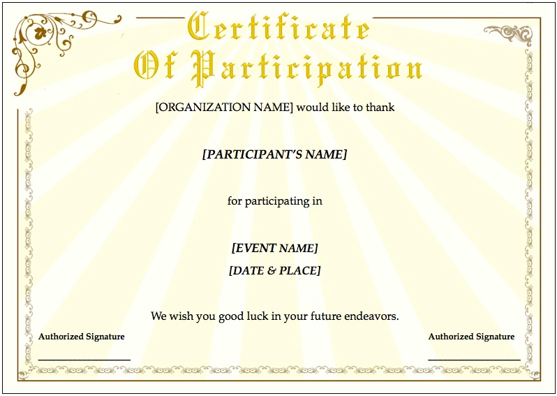 customizable certificates  Free Customizable Certificates | Certificate Templates